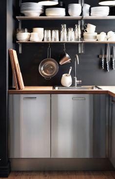 umweltfreundliche küche mit faktum eckunterschrank mit karussell ... - Ikea Küche Eckschrank Karussell