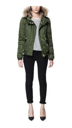 Lovely Parka jacket by zara.