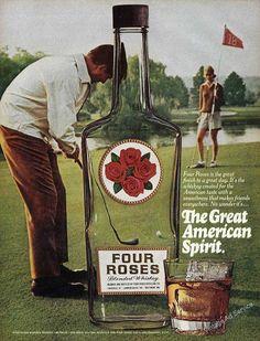 1979 Four Roses Whiskey www.GolfSportMag.com