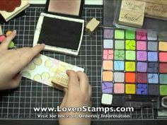 Stampin' Pastels from Stampin' Up! Demonstrator Meg Loven brings you 4 Pastel techniqu. Card Making Tips, Card Making Tutorials, Card Making Techniques, Making Ideas, Stampin Up, Colouring Techniques, Tampons, Copics, Craft Videos
