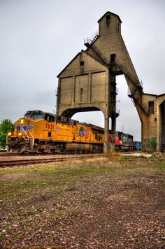 Union Pacific RR - doubt if this was a coaling stop.