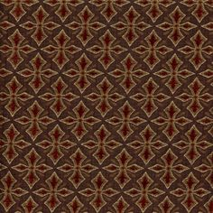 Upholstery Fabric - Jacqueline Burgandy Upholstery Fabric
