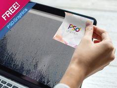 Sticky Note Mockup PSD [FREE] by PSD Graphics