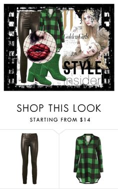 """""""You are pretty!"""" by w-zajac ❤ liked on Polyvore featuring J Brand and Maison Margiela"""