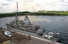 USS Warrior (MCM-10) is an Avenger-class mine countermeasures ship in the service of the United States Navy.