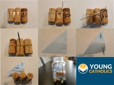 Cork Ship in a Bottle Craft for VBS or Youth Ministry