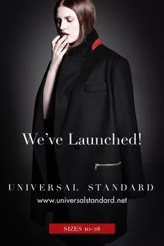First Collection online at http://universalstandard.net Sizes 10-28