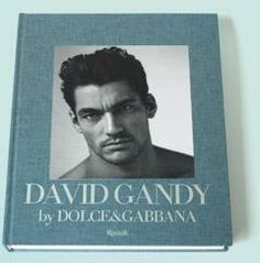David Gandy by Dolce  Book Cover  Xmas Wish List for sure!  Saw a hardcover copy on amazon going for $1K!  [...thank God for paperback!]