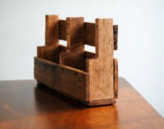 Wall Mounted Brochure Rack Made From Pallet Google