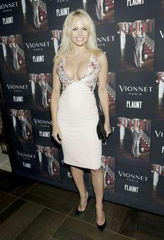 Pamela Anderson   Flaunt Magazine Vionnet Paris