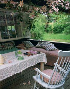 A beautiful outdoor retreat