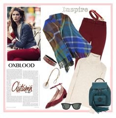 """Hot Color Trend: Oxblood"" by marthalux ❤ liked on Polyvore featuring mode, Hobbs, Hermès, Vivienne Westwood, Salvatore Ferragamo, Chloé, Isabel Marant, Ray-Ban, Gucci et Enchanté"