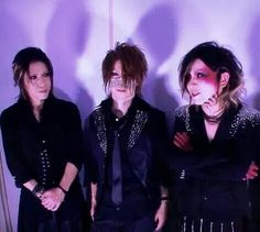 Aoi. Reita. Ruki. The GazettE.