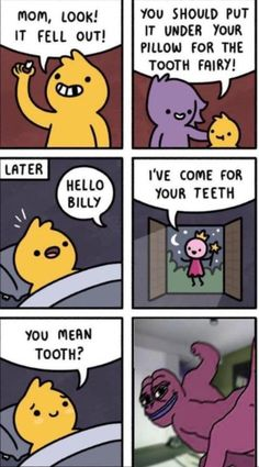 Hello You, Tooth Fairy, Toothless Funny, Wellness, You Meant, Pillows, Teeth, Peanuts Comics, Funny Memes