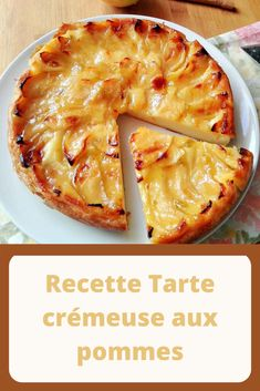 Recette Tarte crémeuse aux pommes – Page 2 – Toutes recettes Bon Dessert, Lunch To Go, Tart Recipes, Healthy Breakfast Recipes, Mini Cakes, Cooking Time, Gluten Free Recipes, Bakery, Food And Drink