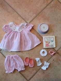 American Girl Bitty Baby Happy Birthday Retired Outfit Accessories Lot | eBay