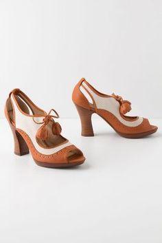 Anthropologie: Mala Wingtip Heels (also in yellow)  $118