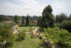 the italian garden of Ape Rosa