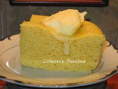 Coleen's Recipes: THREE MINUTE MICROWAVE CORNBREAD
