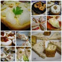 10 Receta de aperitivos pinchos y tapas - Top ten recipes for appetizers tapas and snacks