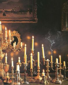 Elegant taper candles enhance their impact by adding style & elegance!