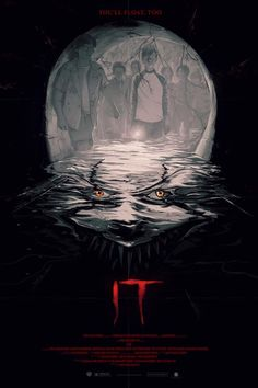 ‪Check out this all-new art for IT Movie by artist Oliver Barrett, then see it at Regal Cinemas everywhere on September 8th! Tickets: http://regmovi.es/2w3Y8f8‬ #ITMovie
