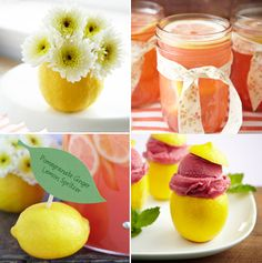Lemon Themed Party, check out site for details... very cute ideas for a spring party