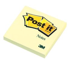 Post-it Super Sticky Notes Yellow 3 Pack Sticky Notes, Packing, Bag Packaging