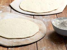 Get Two-Ingredient Pizza Dough Recipe from Food Network