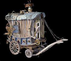 gypsy wagon dollhouse