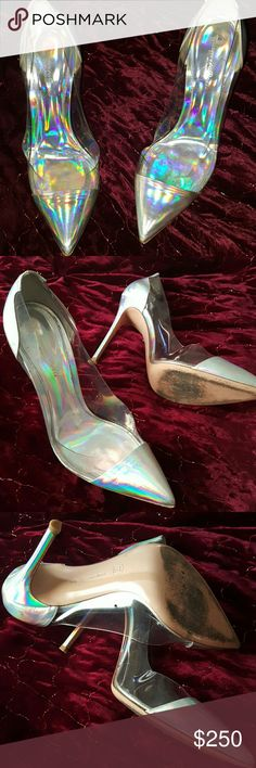 Gianvitto Rossi shoes Worn. Without box. In good condition. Hard to find. Gianvito Rossi Shoes Heels