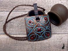 Купить Комплект из полимерной глины - коричневый, медный, украшения ручной работы, бижутерия ручной работы