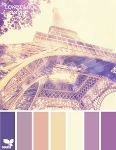 Eiffel Tower color inspiration