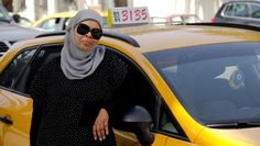 Tunisia's new constitution explicitly recognizes women's rights, including the right to drive a cab. But Yamina Jaouani has been a taxi driver in Tunis for nearly 30 years. [ Photo / Article / Radio Interview: Kiran Alvi / @kiranalvi ]