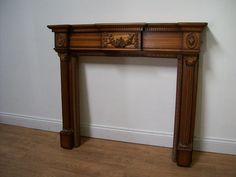 lovely carved mahogany fire surround  http://www.vintageandpaintedfurniture.co.uk/ https://www.facebook.com/VintageandPaintedFurnitureCompany?ref=hl  https://twitter.com/calicocatchic/status/432446789812092929  #vintage #firesurround