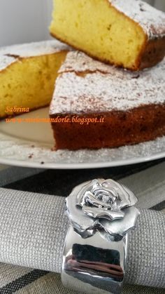 Miel & Mandorle: Torta alla ricotta e cioccolato bianco