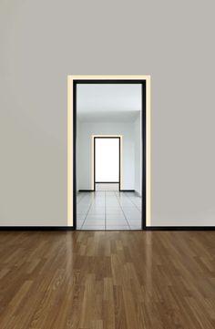 Pure Lighting Verge Door Frame Plaster-In LED System