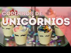 DIY COMIDINHAS FOFAS DE UNICÓRNIO: chifre mágico, morancórnio e milkshake   Paula Stephânia - YouTube