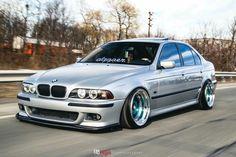 BMW E39 5 series silver deep dish slammed dapper Bmw E39, Bmw E46 Sedan, Triumph Bonneville, Honda Cb, Street Tracker, Nissan 300zx Turbo, Chevrolet Cobalt Ss, Custom Chevy Trucks, Bmw Love