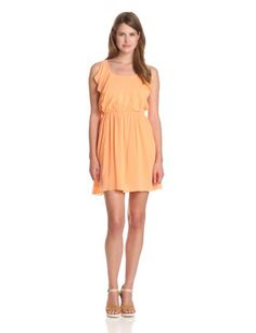 BCBGeneration Women's Flutter Dress, Peach, Small BCBGeneration,http://www.amazon.com/dp/B00BBRM64O/ref=cm_sw_r_pi_dp_roQVsb0Q4EKE4R1N