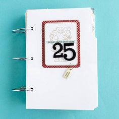 Create a December Daily Album ~~~great idea