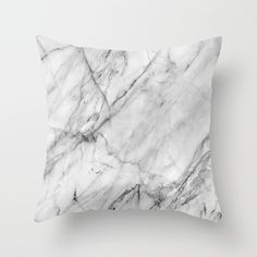 Buy Marble by Patterns and Textures as a high quality Throw Pillow. Worldwide shipping available at Society6.com. Just one of millions of products available.