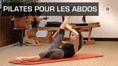 Véréna Tremel, professeur de Pilates, vous propose un cours ciblé sur les abdos. Au programme : travail des obliques, gainage en planche latérale, demi-pont,...