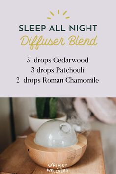 Essential oils are proven to improve your sleep, help you relax, and help you wake up feeling well rested. Fall asleep faster and happier with these 21 deep sleep diffuser blends. We've included sleep recipes for popular essential oils, recipes for children, and anxiety-calming blends. Cedarwood, patchouli, and roman chamomile make up this essential oil recipe blend. Essential Oils For Sleep, Essential Oil Blends, Milk Makers, Natural Sleep Remedies, Feeling Well, Roman Chamomile, Sleep Help, Oil Recipe, Wellness Products