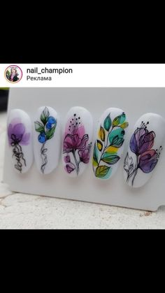 Heat Up Your Life with Some Stunning Summer Nail Art Summer Acrylic Nails, Acrylic Nail Art, Acrylic Nail Designs, Nail Art Designs, Spring Nails, Cute Gel Nails, Pretty Nails, Nail Ink, Nail Art Wheel