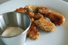 8/6/11 chicken nuggets + sweet potato fries