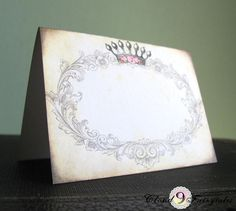 King and Queen Place Cards