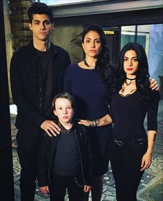 The Lightwood family-Alec, Maryse, Isabelle and Max