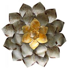 Metal Wall Flower home :: metal wall art :: flowers, leaves & trees :: set 4 three