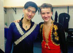 Nan Song and Misha Ge  from Misha Ge officialweibo.